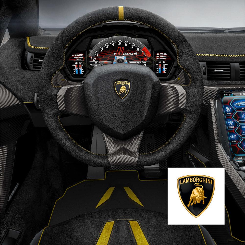 Lamborghini - Instrument Cluster UI