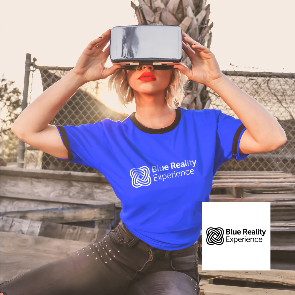 Blue Reality Experience - Branding