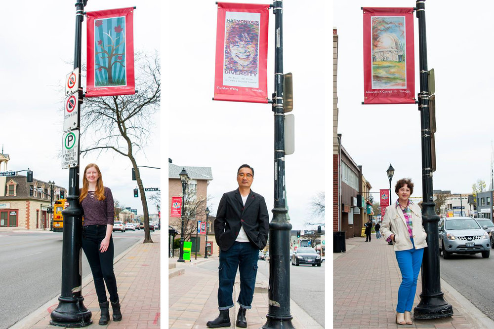 Canada 150 Official Branding – Town of Richmond Hill - Street Banner Winners three
