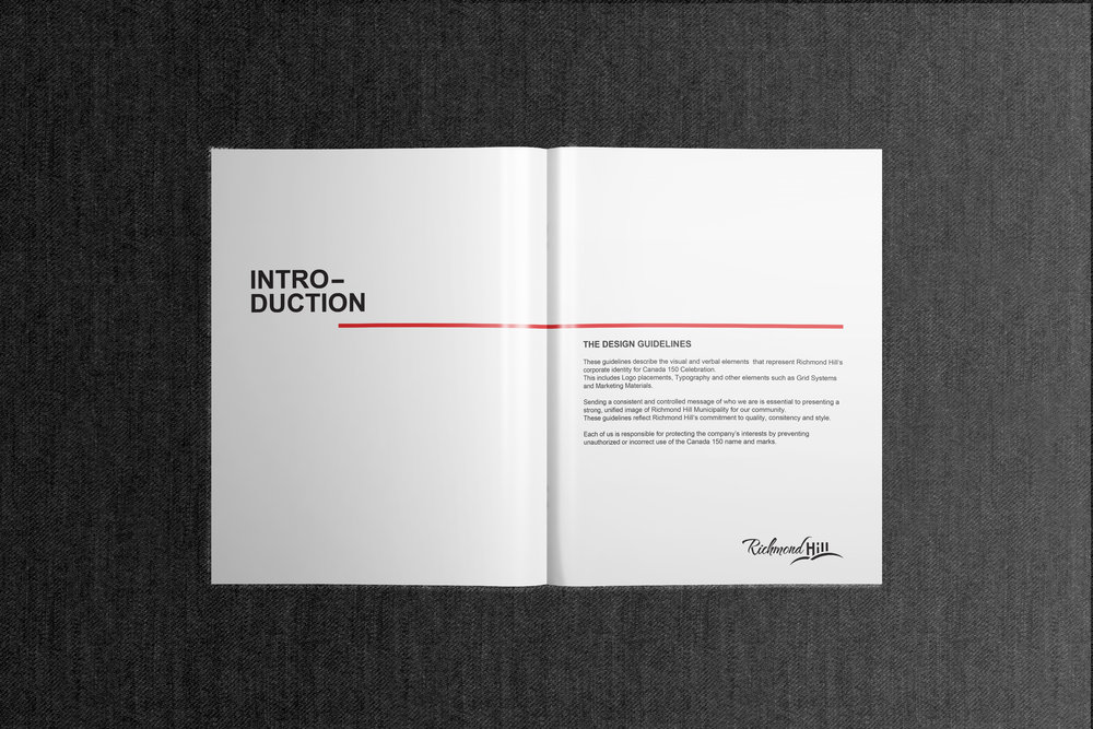 Canada 150 Official Branding inside Cover