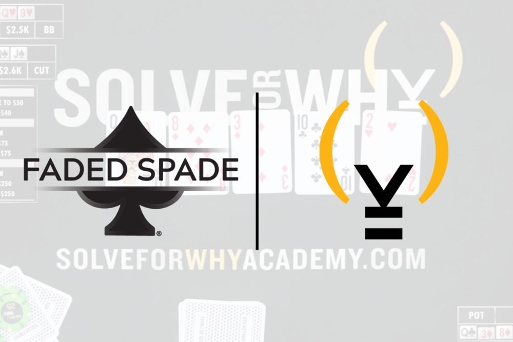 Faded Spade Solve for Why Tom Wheaton Matt Berkey Poker Playing Cards