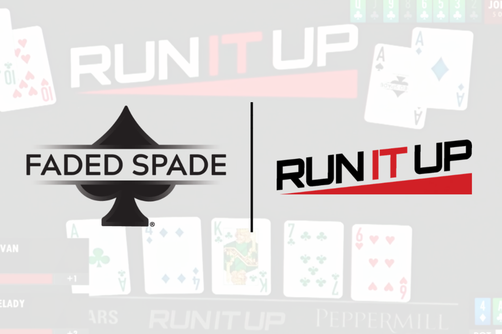 Faded Spade poker playing cards and run it up reno with tom wheaton and jason somerville