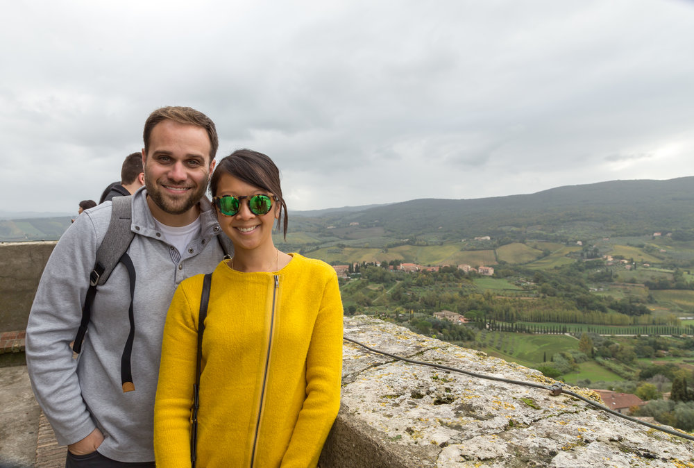 We wandered around Volterra, popping in and out of little shops, sipped on cappuccinos, indulged in meat and cheeses, and of course gelato.