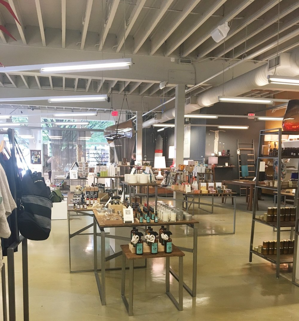 Here's another shot of the store. Definitely a must-visit if you are in Portland and looking to bring back a gift for family, friends, or yourself!