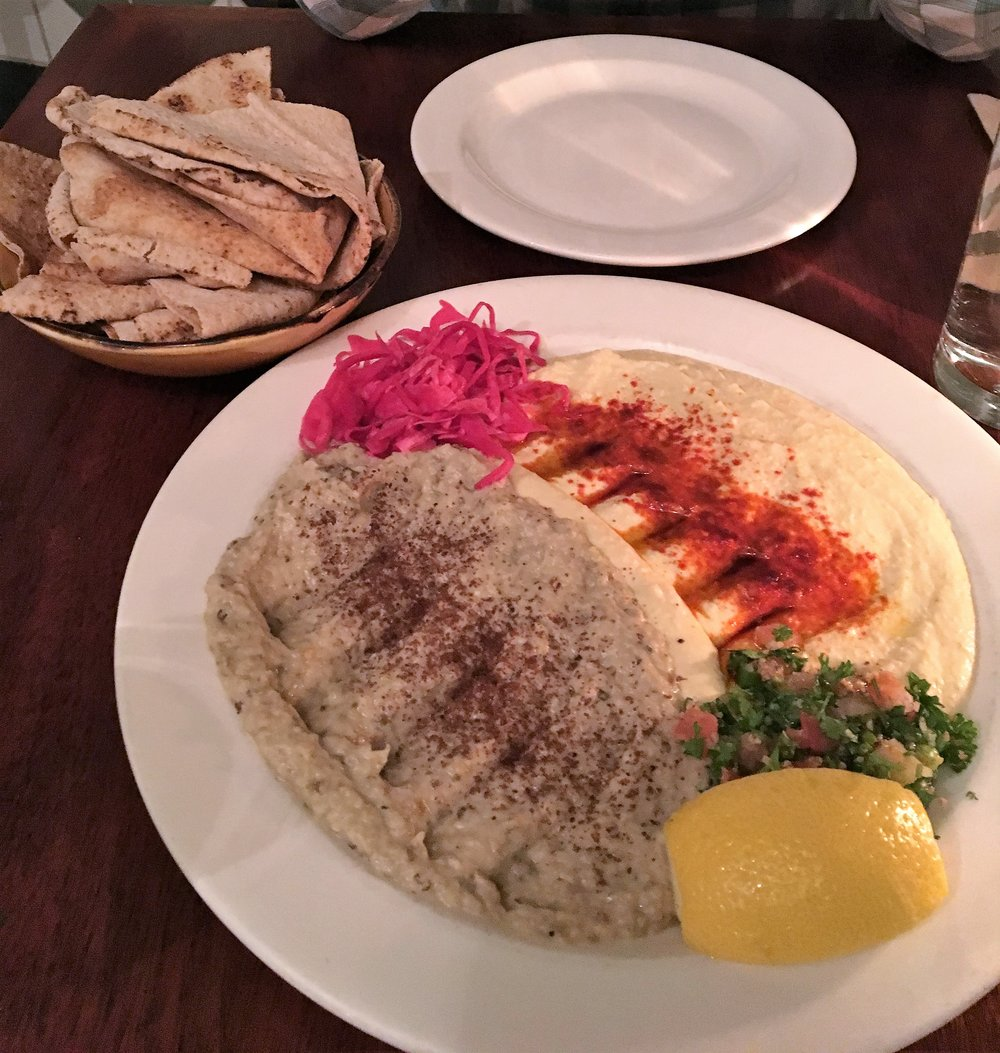 On our last night, we went to  Nuba , a lebanese restaurant. The lovely blogging duo of  Footnotes & Finds  gave us this recommendation.