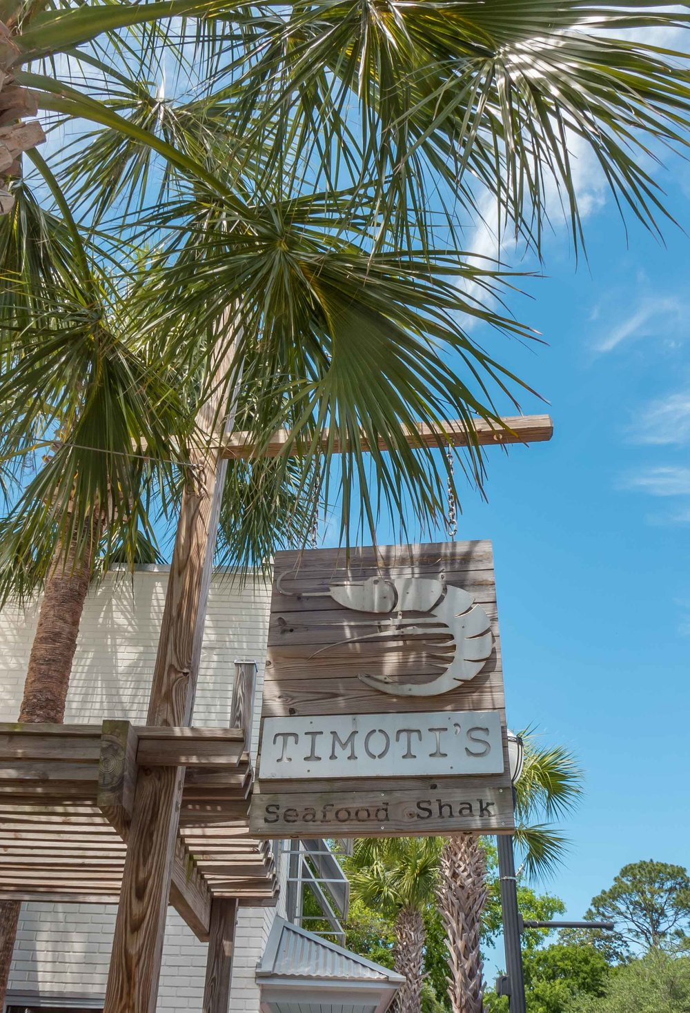 We had rented a car which made it easy to leave the resort in search of food. Fernandina Beach is about a 20 minute car ride from the resort. For lunch one day, we ventured out to  Timoti's Seafood Shak .