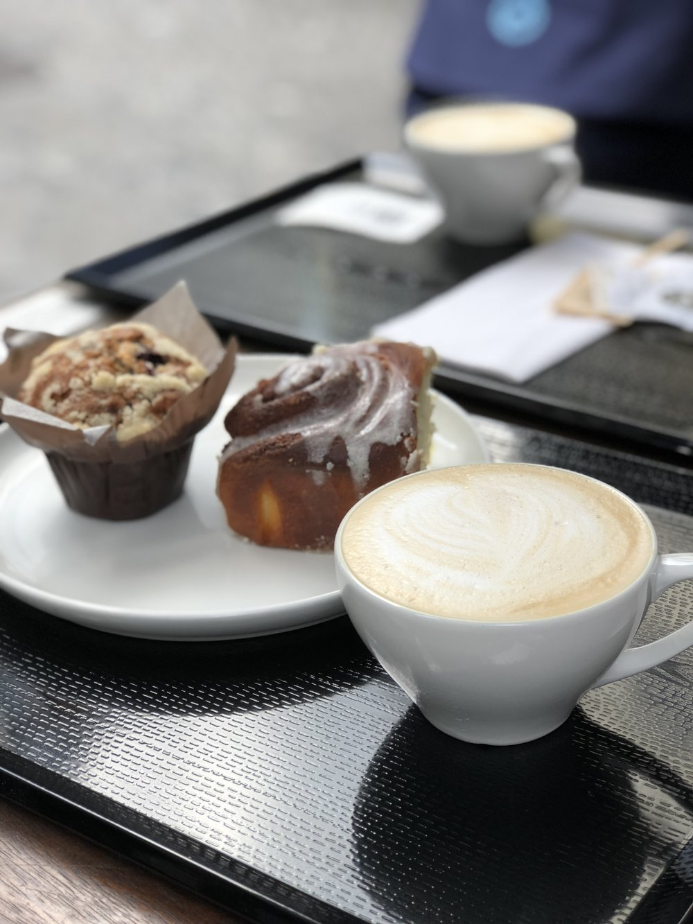 For a quick breakfast, we stopped by  delish cafe , which is nestled in the Martgasse Hotel. We grabbed a few pastries and cappuccino's before we set out for the day.
