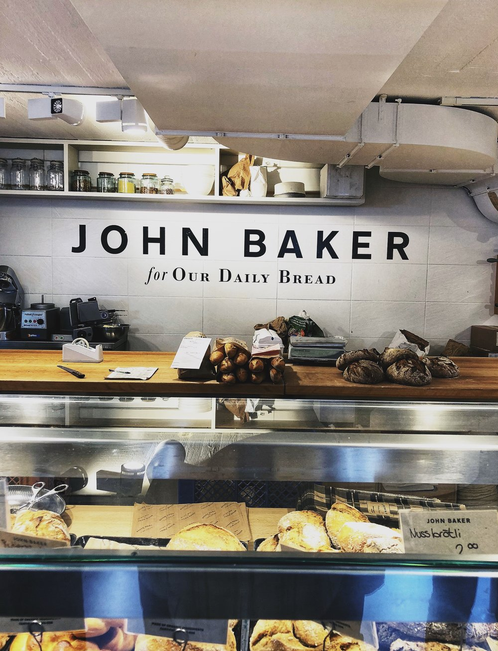 Upon walking into  John Baker , I immediately wanted all the breads!!! Hello carb-city. We grabbed a few smaller baked goods to save as snacks for our travels. They also make some amazing in house drinks and I grabbed a refreshing lemonade to quench my thirst on yet another hot hot day.
