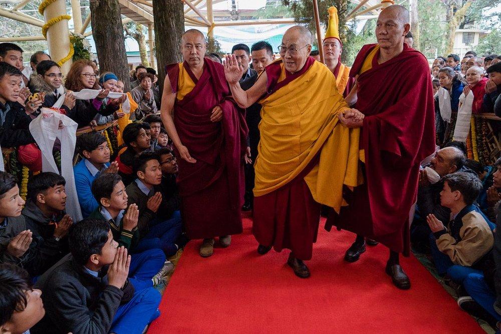 藏人行政中央擬在印度舉辦感謝活動,傳出遭婉拒。圖片來源:國際西藏郵報