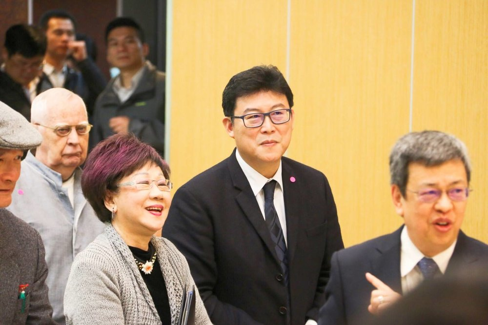 立委姚文智與前副總統呂秀蓮目前都積極表態參與民進黨台北市長初選。圖片來源:姚文智/Facebook