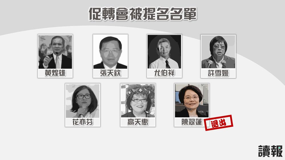 長期投入228事件研究的陳翠蓮傳出原已答應出任促轉會委員。製圖:美術組