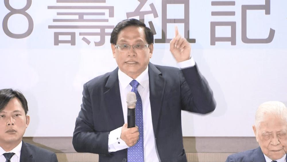 台獨聯盟前主席郭倍宏在228大屠殺71週年,號召獨派團體與4大在野黨擬在明年(2019年)發動台灣獨立公投。圖片提供:民視新聞