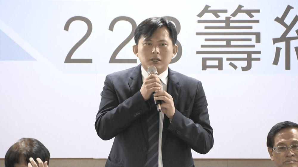 時代力量黨主席黃國昌現身力挺2019台獨公投。圖片提供:民視新聞