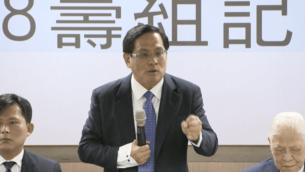 民視董事長郭倍宏發起要在2019舉辦獨立公投。圖片提供:民視新聞
