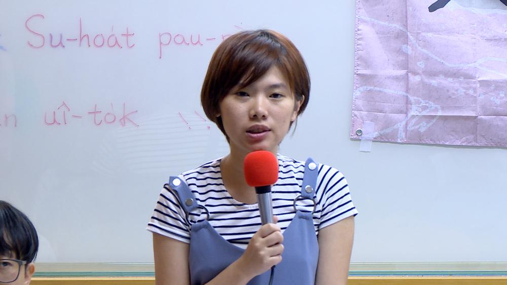潑漆案遭起訴之一的台大學生張閔橋。圖片提供:民視新聞