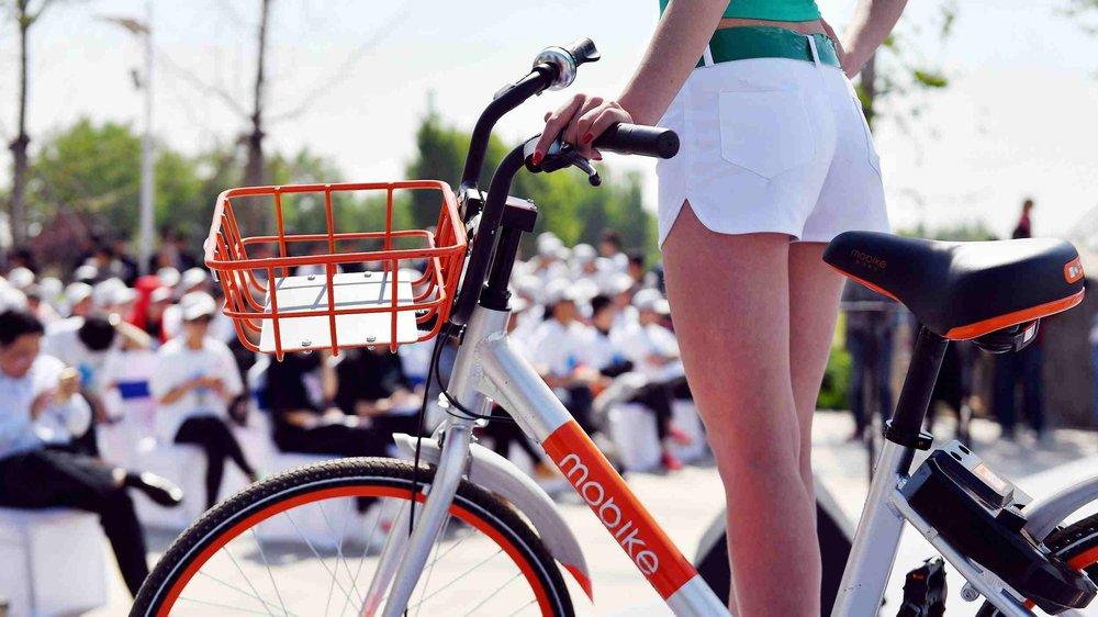 中國宣稱共享單車是中國的「新四大發明」之一。圖片來源:中國環球電視網