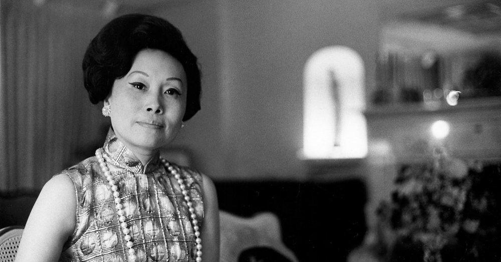 飛虎將軍陳納德的妻子陳香梅3月30日在華府過世。圖片來源:WorldProNews.com