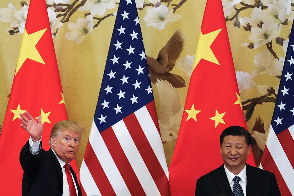 美中貿易大戰愈演愈烈。圖片來源:中國環球電視網