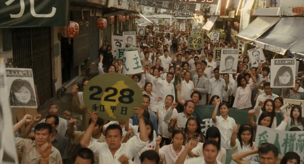 過去曾被國民黨列為「黑名單」的郭倍宏今年228宣布籌組「喜樂島聯盟」,將在明年發動獨立公投。圖片來源:《被出賣的台灣》