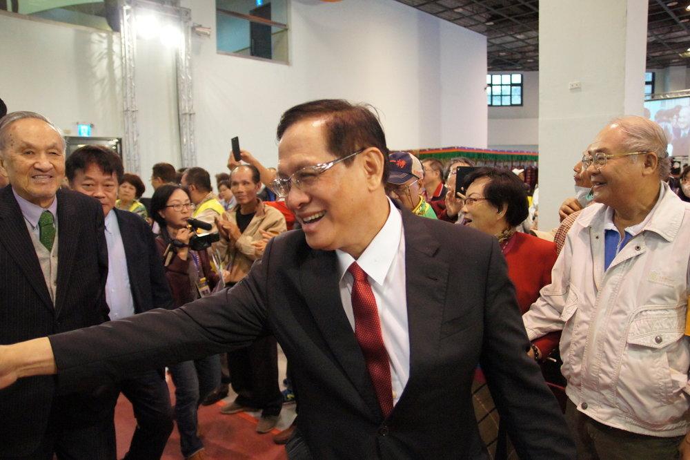 台獨聯盟美國本部前主席郭倍宏號召台派團體組織「喜樂島聯盟」力推2019台灣獨立公投。圖片提供:基進黨