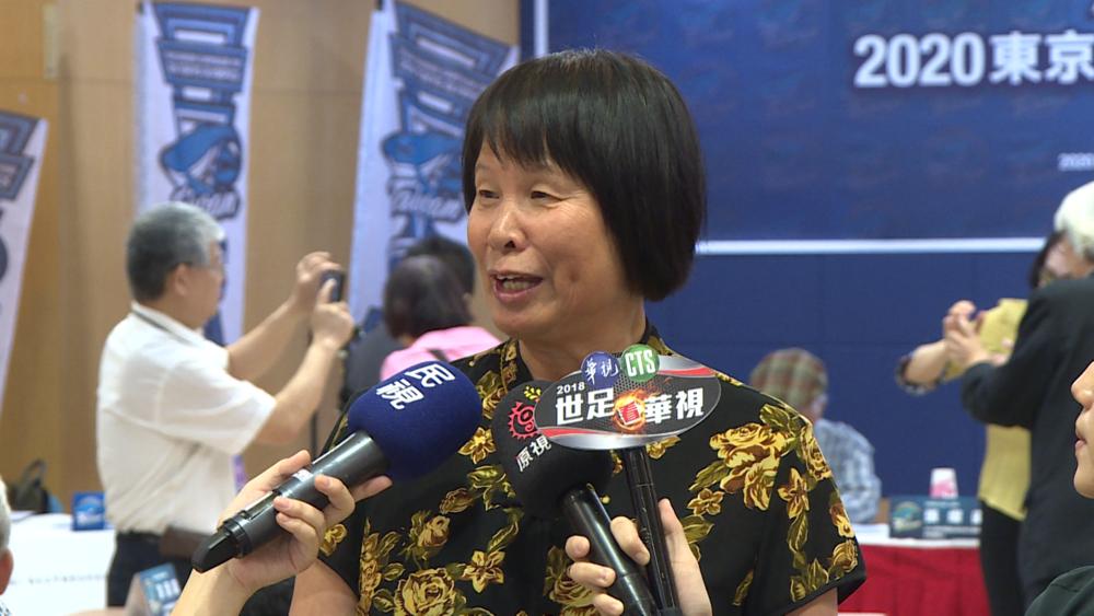 「飛躍的羚羊」紀政號召發起2020東京奧運台灣用台灣的名義參賽的公民投票活動。圖片提供:民視新聞