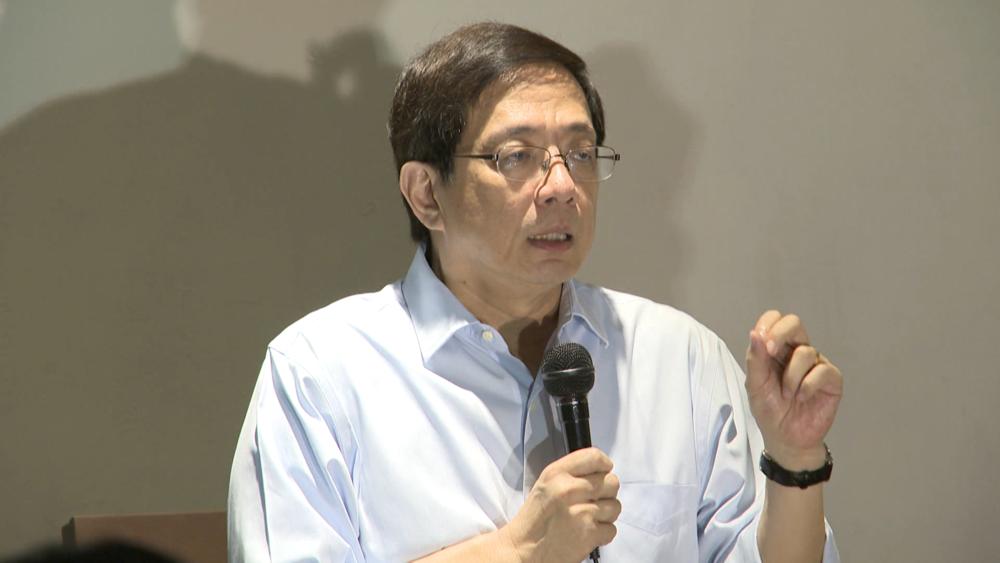 台大準校長管中閔遭爆在中國兼職多所大學教授。圖片提供:民視新聞