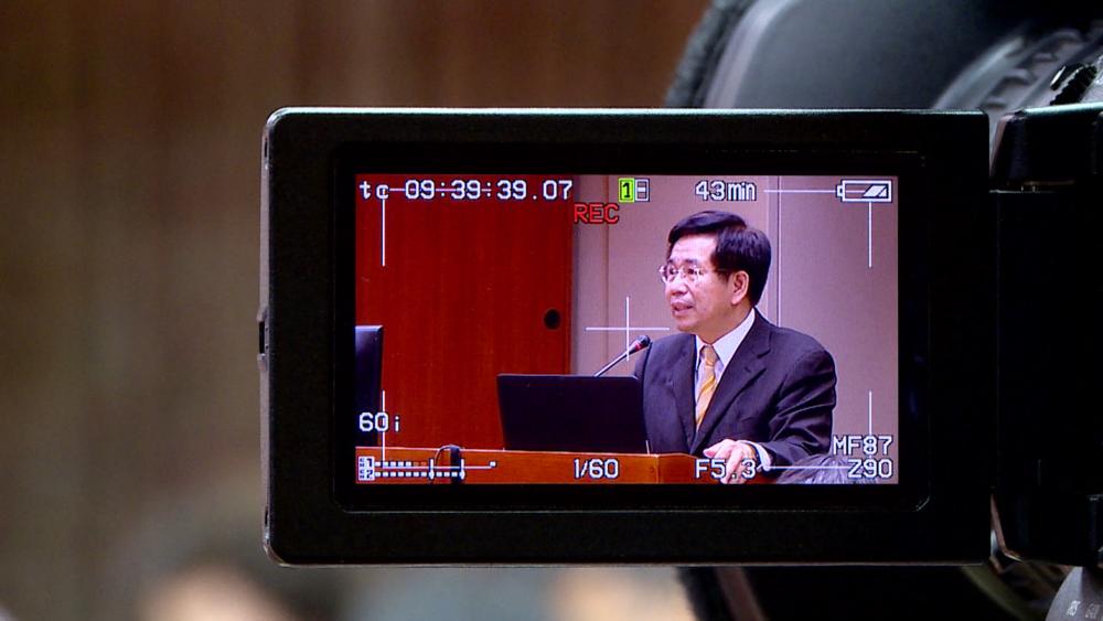 教育部長潘文忠因台大校長人事案請辭獲准。圖片提供:民視新聞