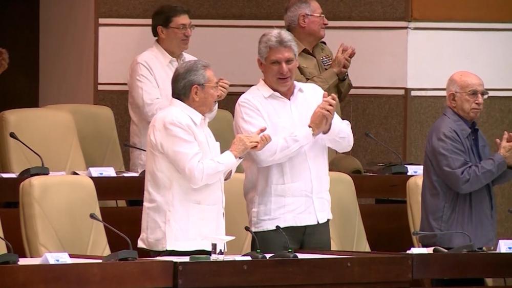 狄亞士-卡奈當選古巴新總統。圖片來源:CNN