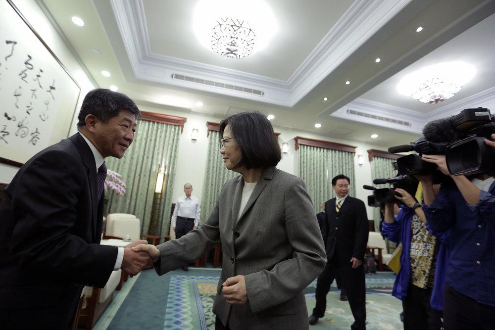 美國將力挺台灣加入世界衛生大會。圖片來源:中華民國總統府/Flickr