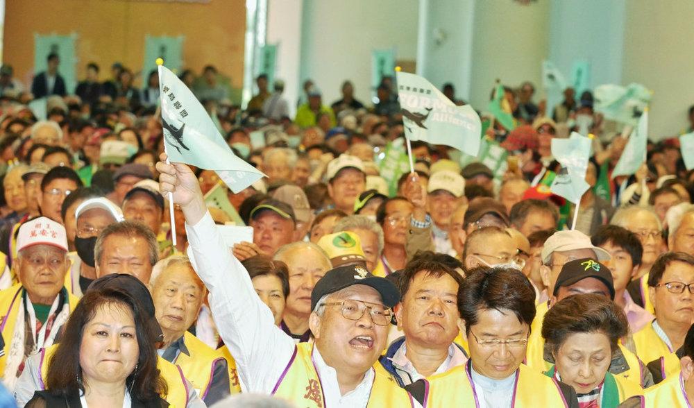 喜樂島聯盟「獨立公投、正名入聯」的訴求,堅定要集結人民,當蔡英文政府的民意後盾力量,持續發燒中。攝:張家銘/民報