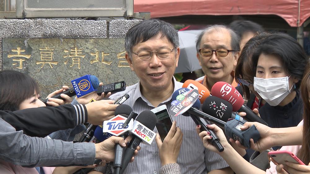 柯文哲抨擊新任教育部長吳茂昆是「白痴」。圖片提供:民視新聞