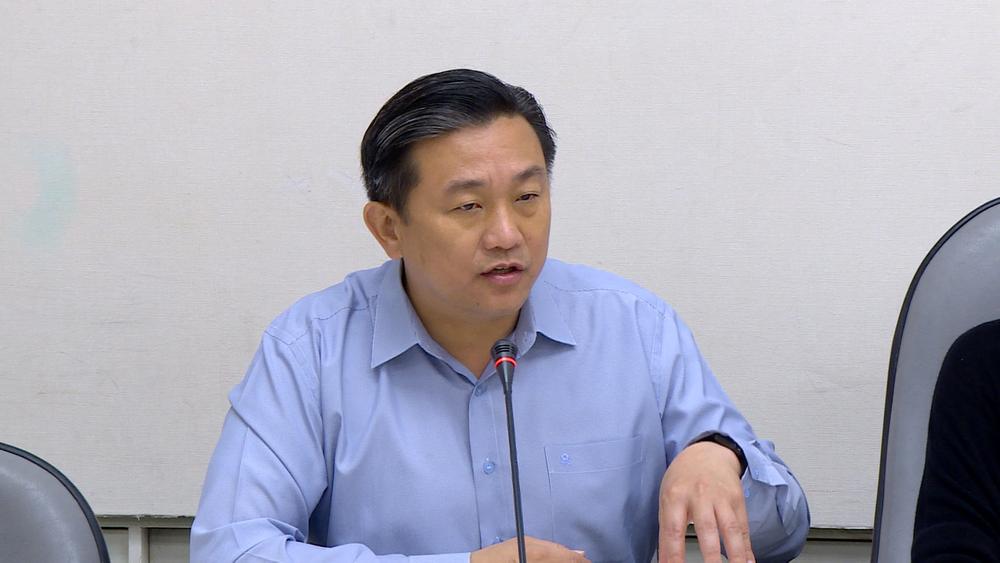 民進黨立委王定宇嗆聲,若禮讓柯文哲就辭中執委。圖片提供:民視新聞
