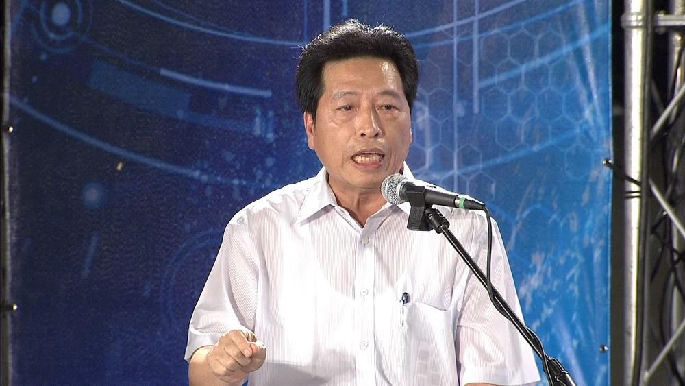 民進黨立委鄭寶清在立法院質詢有關民視遭TBC斷訊事情,要求NCC開罰。圖片提供:民視