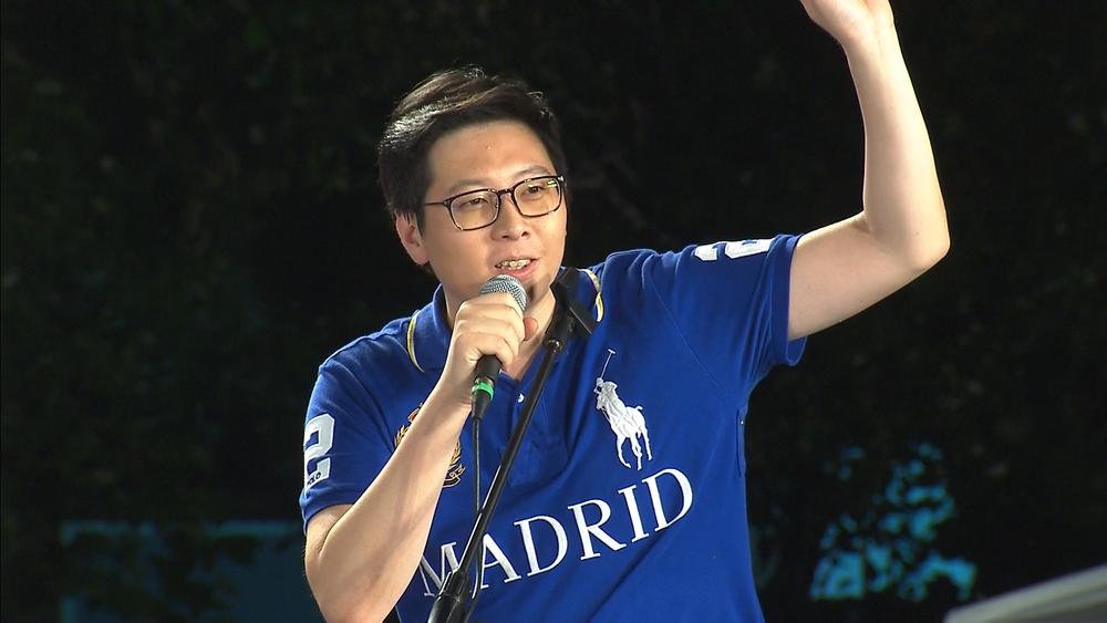 綠黨桃園市議員王浩宇表示,TBC平常服務很爛。圖片提供:民視