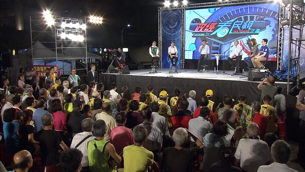 《政經看民視》主持人彭文正痛批TBC以平均一天30萬,就可箝制台灣新聞自由。圖片提供:民視