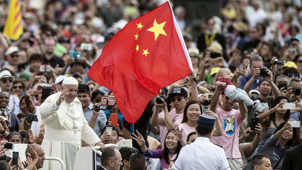 天主教台灣主教團力邀教宗方濟各明年訪台。圖片來源:中國環球電視網