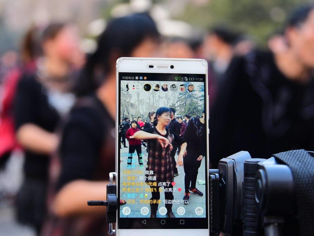 〈快手〉APP也遭中國政府審查下架。圖片來源:香港矽谷