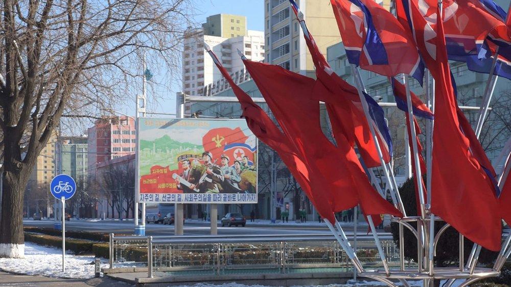 川普嗆聲北韓「金正恩不聽話將招來不幸」。圖片來源:中國環球電視網