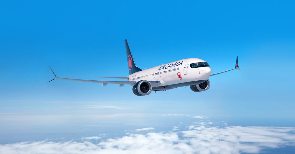 加航行為等於認同「台灣是中國的一部分」。圖片來源:Air Canada