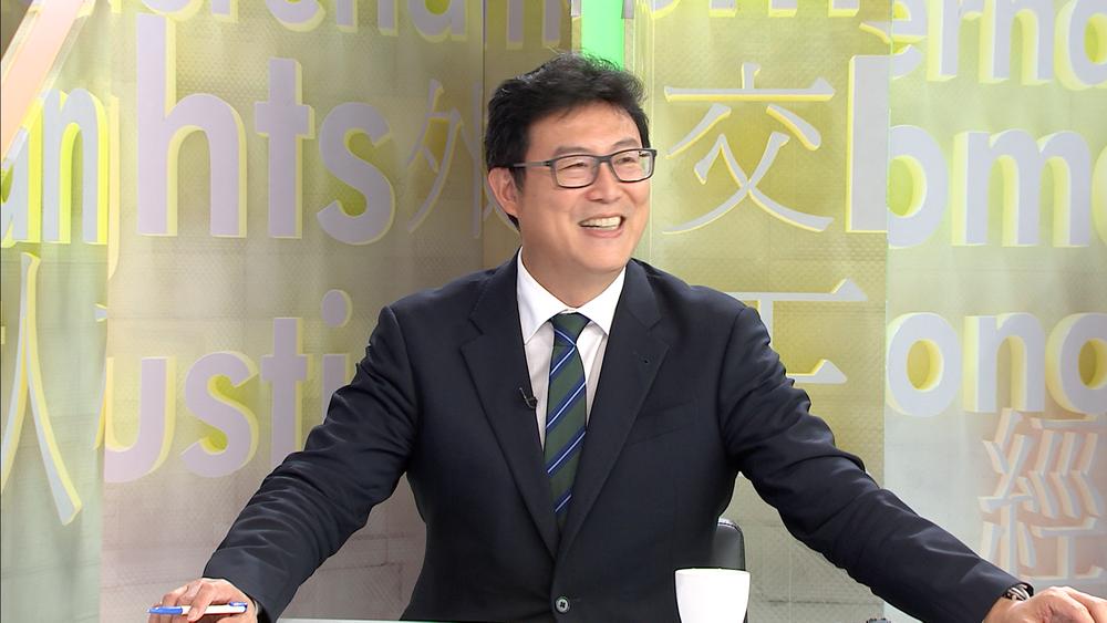 民進黨立委姚文智爭取黨中央徵召參選台北市長。圖片提供:民視