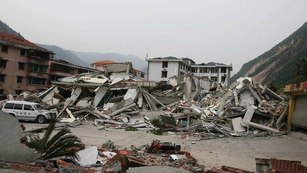 汶川大地震共造成69227人死亡,374643人受傷,17923人失蹤,是中華人民共和國建國以來破壞力最大的地震。圖片來源:中國環球電視網