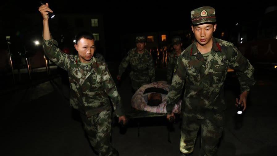 汶川大地震災後頭七,中華人民共和國政府首次對公眾設立了全國哀悼日。圖片來源:中國環球電視網