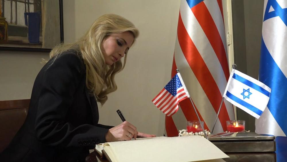 美國駐以色列大使館由特拉耶夫遷居到耶路撒冷。圖片來源:CNN