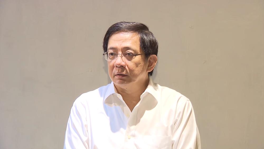 管中閔接受TVBS與《聯合報》專訪。圖片來源:TVBS新聞台