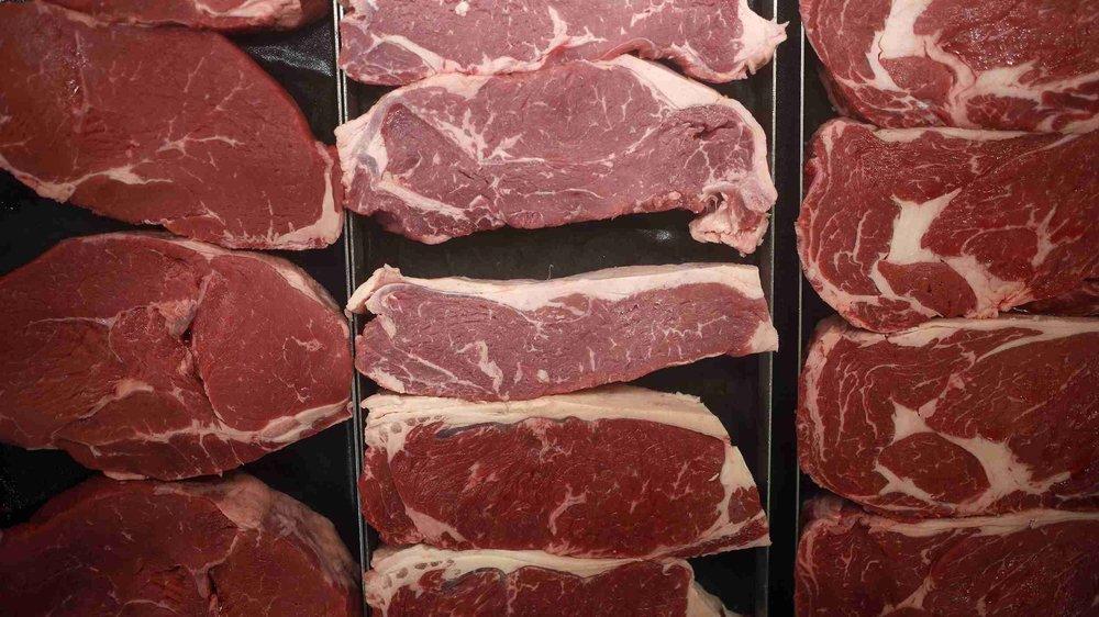 進口中國的美國豬肉,遭中方攔截卡在海關。圖片來源:中國環球電視網