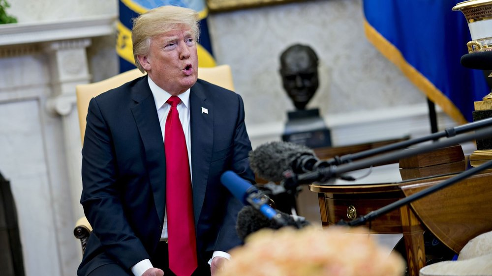 美國總統川普與北韓領導人金正恩原定6月12日會面可能延期。圖片來源:中國環球電視網