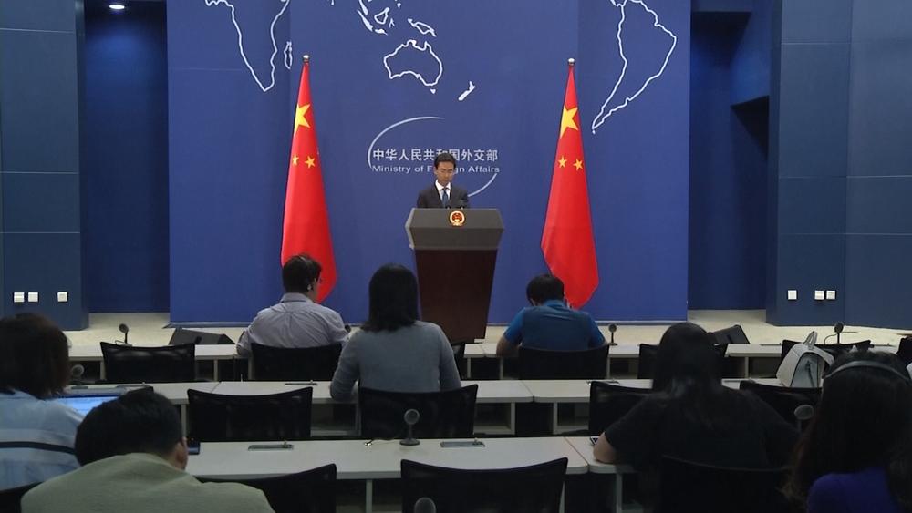 中國外交部重申「一個中國原則」,認為台灣不應該參加WHA。圖片提供:民視新聞