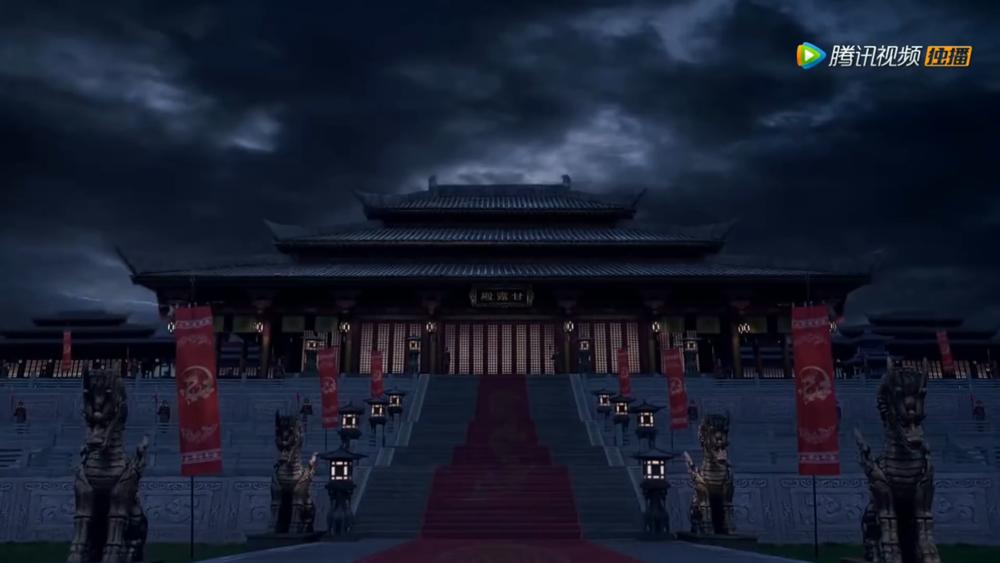 TVB與騰訊合作拍攝的《宮心計2之深宮計》遭中國政府施壓下架。圖片來源:騰訊視頻