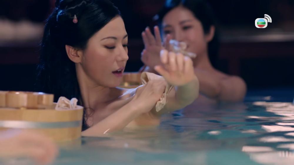 《宮心計2之深宮計》被中國政府認為有「借古諷今」之嫌,遭強迫下架。圖片來源:無線電視台
