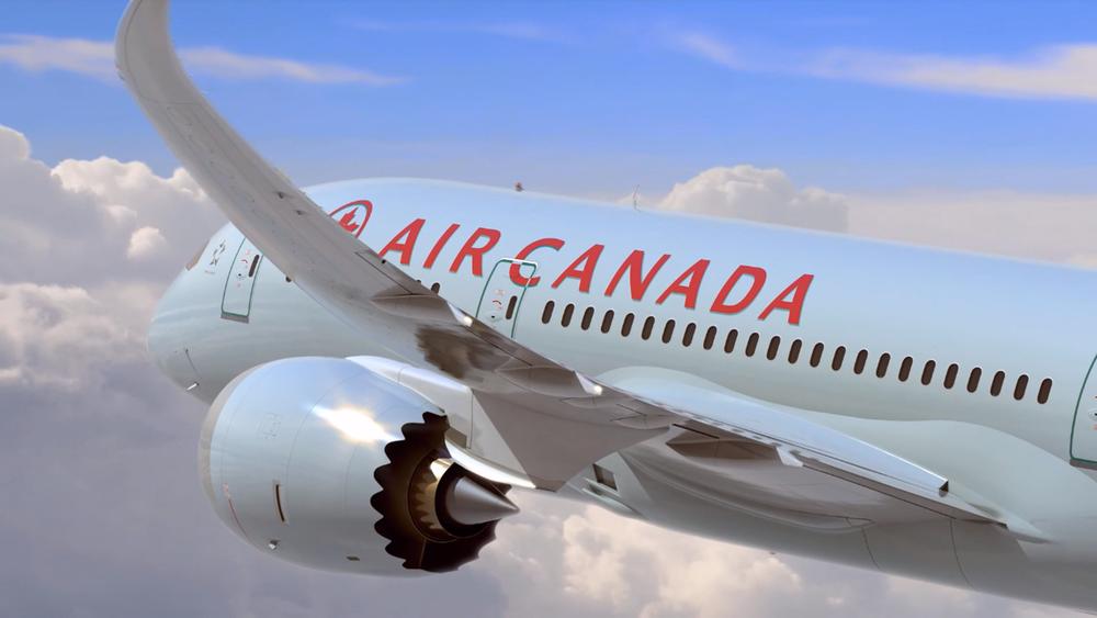 加拿大航空也遭中國施壓。圖片提供:民視新聞